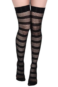 5edcdd1e90d Shena Fishnet Stockings  B . Beserk ClothingKillstar ClothingThigh High  SocksNylonsJean ...