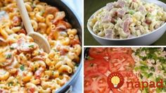 To je nápad! Macaroni And Cheese, Toast, Food And Drink, Healthy Recipes, Healthy Food, Vegetables, Ethnic Recipes, Twitter, Ideas