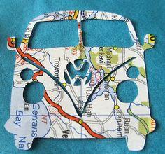 blah to TADA!: Map Crafts