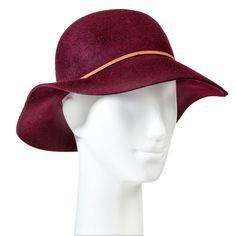 Women's Felight Floppy Hat Burgundy - Merona, Red