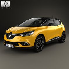 Renault Scenic 2016 3d model from Humster3D.com.