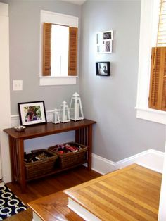 Gray Walls Image By The Life Of Ck And Nate Wall Paint Color Valspar Urban Sunrise Trim Summer