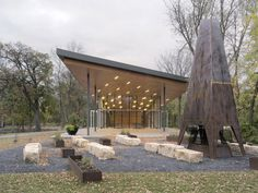 Vital Park is one of three regional parks original to the City of Winnipeg. Designed by George Champion, the 115 acre ha) park features a dense riparian. Park Pavilion, Acre, Pergola, Outdoor Structures, Patio, Outdoor Decor, Design, Home Decor, Architecture