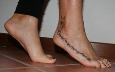 ecco i  miei piedini..