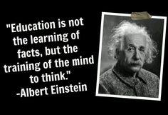 Education ~quote Einstein