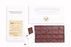 Chocolate Packaging: Casa Bosques designed by Savvy Studios