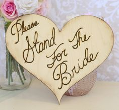Love the saying.. Not to keen on the actual sign. Rustic Wedding Sign by braggingbags on Etsy, $45.00