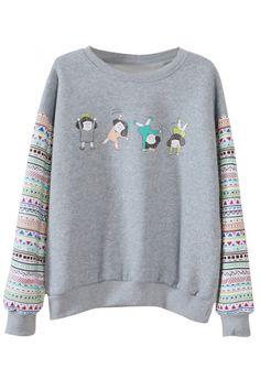 superhopenever:  Long Sleeve Sweatshirt Cartoon Kids &...