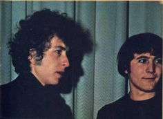 Bob Dylan with David Crosby (The Byrds) - 1965