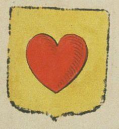 Barthélémy DE BERMOND DE SAINTE-CROIX, écuyer. Porte : d'or, à un cœur de gueules | N° 50