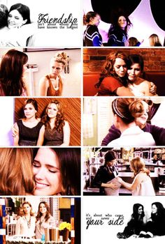 Brooke and Haley. I feel like people overlook their friendship because it's always Brooke and Peyton