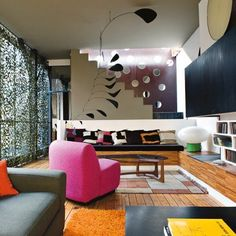 Great mix of colours and textures