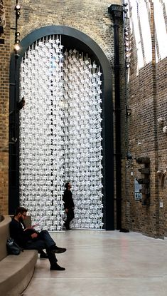 large-scale paper installations paper art paper sculptures large installations installation art