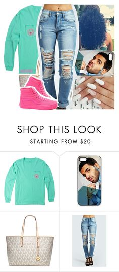 """""""field trip tomorrow"""" by lamamig ❤ liked on Polyvore featuring MICHAEL Michael Kors, Boohoo and Vans"""