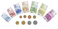 It's hard to find 'euro' play money a lot of the time, that's why this set is snapped up quickly every time I stock it. Teach children how to shop + budget Teaching Kids, Kids Learning, Teaching Spanish, Piece Euro, Money Notes, Play Shop, Play Money, Money Bank, Shops