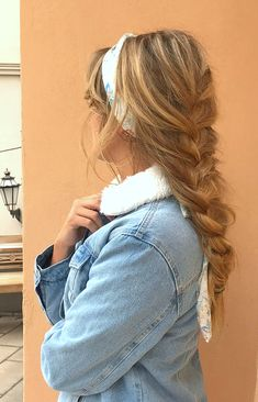 Pinterest: DEBORAHPRAHA ♥️ Matilda wearing a braid with a headband #braids #hairstyles