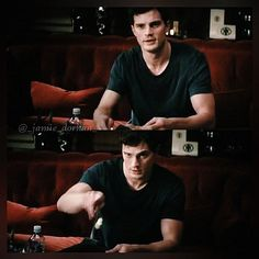 """""""Where did you sleep?"""" """"There."""" Fifty Shades Of Grey"""