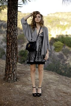 How to Wear Sequins and Still Look Chic | StyleCaster @ The Blonde Salad