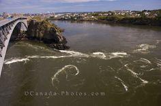 Reversing Falls, Saint John, New Brunswick...2008 New England Cruise