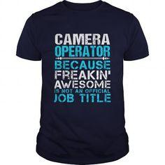 CAMERA-OPERATOR - #christmas tee #hoodies for men. OBTAIN => https://www.sunfrog.com/LifeStyle/CAMERA-OPERATOR-111044960-Navy-Blue-Guys.html?68278