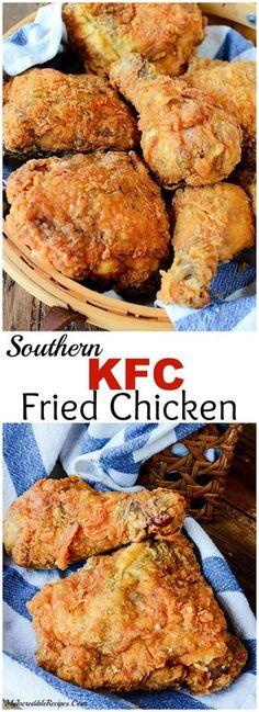 Southern KFC Secret Fried Chicken Recipe