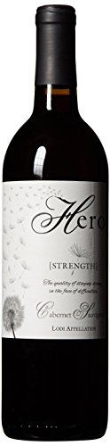 """Hero Cellars """"Strength"""" Cabernet Sauvignon 750 mL Wine (Supports Make-A-Wish) ** Details can be found by clicking on the image.  This link participates in Amazon Service LLC Associates Program, a program designed to let participant earn advertising fees by advertising and linking to Amazon.com."""