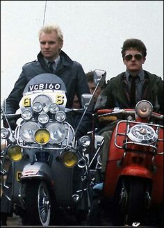 """I don't like Mods or their rides but I am a big fan of """"The Who"""" and their album/movie """"Quadrophenia"""". I did like Sting as """"Ace Face"""" with his tricked out Vespa."""