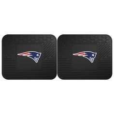 New England Patriots Backseat Utility Mats 2 Pack 14x17 - Boast your team colors with backseat utility mats by FANMATS. High quality and durable rubber construction with your favorite team's logo permanently molded in the center. Non-skid backing ensures a rugged and safe product. Due to its versatile design utility mats can be used as automotive rear floor mats for cars, trucks, and SUVs, door mats, or workbench mats. Now comes in a 2 Pack!FANMATS Series: 2UTILITYTeam Series: NFL - New…