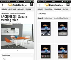 The new Castellani.it srl APP is available for free on your smarthone and tablet. Download it now!  iOS devices: apple.co/1HRzkce  Android devices : bit.ly/1HRze4p