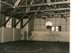 Fort Caswell: gym