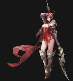 ArtStation - Goddess of Dragon, Daeho Cha