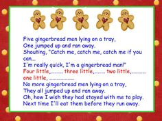 A Teacher's Touch: Gingerbread Man Freebies Galore. Four good songs on this site for gingerbread week. Gingerbread Man Song, Gingerbread Man Activities, Gingerbread Crafts, Christmas Gingerbread, Gingerbread Cookies, Gingerbread Houses, Christmas Program, Christmas Songs For Kids, Christmas Ideas