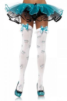 Tea Time tights from Good Goth