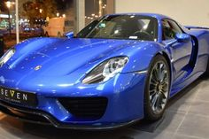 Porsche 918 Spyder in Blue could be the most sought out hypercar