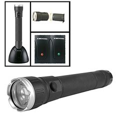 XGlow Large 175 Lumens Aluminum Cree LED Flashlight Rechargeable Battery with Stand -- Learn more by visiting the image link.