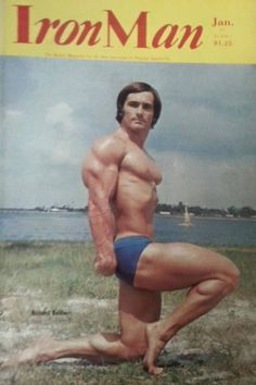 Richard Baldwin on the cover of Iron Man. Physical Fitness, Iron Man, Acting, Bodybuilding, Champion, Exercise, Poses, Magazine, Ejercicio