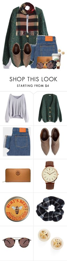 """Wow.. you are absolutely radiant"" by flroasburn ❤ liked on Polyvore featuring PS Paul Smith, Valentino, Tory Burch, BKE, Burt's Bees, Accessorize, Oliver Peoples and Burberry"