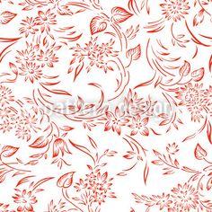 Frühstück In Gent Vektor Ornament Red Design, Design Show, Floral Design, Vector Pattern, Pattern Design, Vektor Muster, Eastern Europe, Vector File, Surface Design