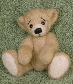 Needle Felted Teddy Bear Kit - Gubbifluff