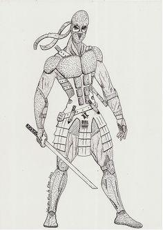 Guerreiro Ninja - Criação