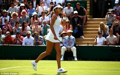 The Serbian, Ana Ivanovic, reached last-four showdown with Venus Williams eight years ago, her best result at SW19 to-date