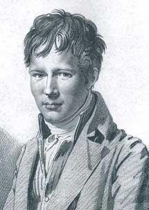 Alejandro de Humboldt por Auguste Desnoyers.