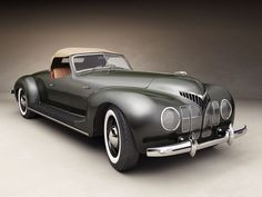 1939 ZIS-101 Sport coupe.