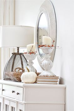Fall home tour with lots of inspiration and ideas to use in your own home. Home decor ideas too. Fall decorating never looks easier! Fall Home Decor, Autumn Home, Holiday Decor, Luxury Homes Interior, Home Interior Design, Concept Home, Fall Color Palette, Under The Table, Fall Decorating