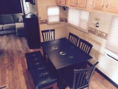 """2007 Used Crossroads Cross Terrain Fifth Wheel in California CA.Recreational Vehicle, rv, REDUCED!!!!!!!! to $23,500 (This is trade in value what a dealer would pay for it) 2007 Cross Terrain Series- M-34 MK-36' toy hauler by Crossroads RV with 2 Slide outs. We have remodeled the inside and transferred the back garage area into a living room with 50"""" LCD Big screen TV, pull out couch with ottoman, Built in cabinets. all new flooring, Crown molding, Unit has 2 AC, 2 Smart fans, Sealy queen…"""