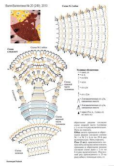 crinoline lady a crochet Filet Crochet, Crochet Diagram, Crochet Chart, Thread Crochet, Crochet Doilies, Crochet Flowers, Crochet Lace, Crochet Scarves, Appliques Au Crochet
