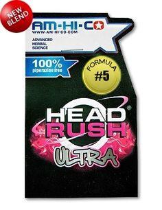 AM-HI-CO HEAD RUSH ULTRA 5A - legal high