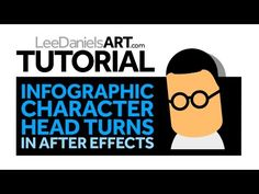 Creating a Simple Head Turn for a Character in Ae ★★★ Find More inspiration @creativeelc ★★★