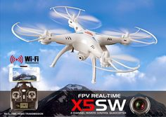 Syma RC Wifi FPV Quadcopter with 0.3MP Camera (takes upto 21 days delivery)
