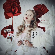 Alice in Wonderland: The White Queen by *mariannainsomnia